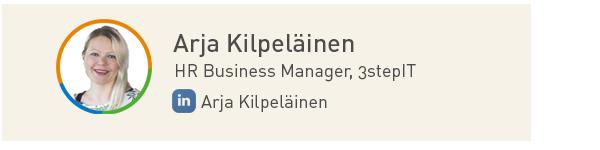 Arja Kilpeläinen, 3stepIT