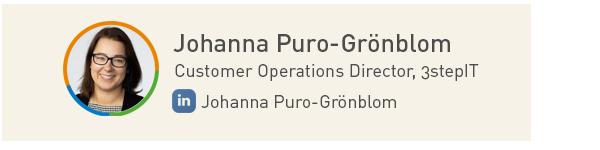 Johanna Puro-Grönblom, 3stepIT