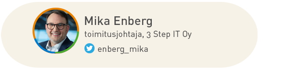 Mika Enberg, 3stepIT